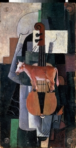 Malevich, Kasimir Severinovich - Cow and Violin