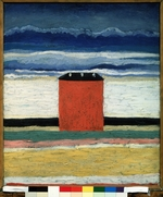 Malevich, Kasimir Severinovich - Red House