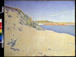 Signac, Paul - The Beach at Saint-Briac. Op. 212 (Sandy seashore)