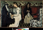 Cézanne, Paul - Girl at the Piano (Overture to Tannhauser)