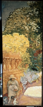 Bonnard, Pierre - The Mediterranean Sea (Triptych, left side panel)