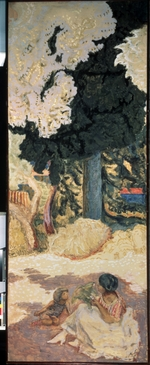 Bonnard, Pierre - The Mediterranean Sea (Triptych, right side panel)