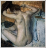 Degas, Edgar - Woman Combing Her Hair
