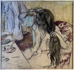 Degas, Edgar - Woman at her Toilette