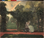 Somov, Konstantin Andreyevich - The derided Kiss