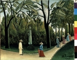 Rousseau, Henri Julien Félix - The Luxembourg Gardens, Monument to Shopin