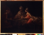 Rembrandt van Rhijn - Ahasuerus, Haman and Esther