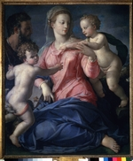 Bronzino, Agnolo - The Holy Family with the young John the Baptist