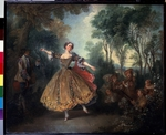 Lancret, Nicolas - The Dancer Camargo