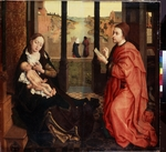Weyden, Rogier, van der - Saint Luke Drawing the Virgin