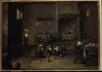 Teniers, David, the Younger - Monkeys in the Kitchen