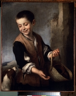 Murillo, Bartolomé Estebàn - Boy with a Dog