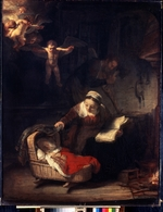 Rembrandt van Rhijn - The Holy Family