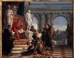 Tiepolo, Giambattista - Maecenas presenting the Arts to Augustus