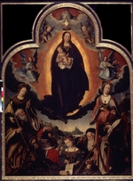 Provost (Provoost), Jan - The Glorification of the Virgin