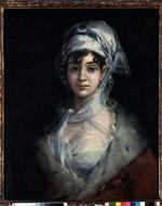 Goya, Francisco, de - Portrait of the Actress Antonia Zárate