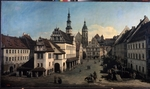 Bellotto, Bernardo - The Market place in Pirna