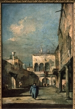 Guardi, Francesco - Venetian courtyard