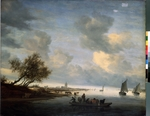 Ruisdael, Salomon Jacobsz, van - Ferry at Arnhem
