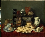 Pereda y Salgado, Antonio, de - Still Life with an Ebony Chest