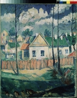 Malevich, Kasimir Severinovich - Spring. Landscape with a small house