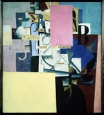 Malevich, Kasimir Severinovich - Lady at the Poster-post
