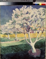 Malevich, Kasimir Severinovich - Apple trees blossoming