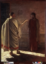 Ge, Nikolai Nikolayevich - What is Truth? Christ Before Pilate