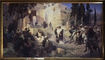 Polenov, Vasili Dmitrievich - Christ and the Woman Taken in Adultery