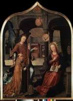 Bellegambe, Jean - The Annunciation (Triptych, Central panel)