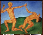 Petrov-Vodkin, Kuzma Sergeyevich - Boys at play