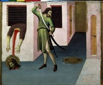 Sano di Pietro - The Beheading of Saint John the Baptist
