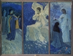 Nesterov, Mikhail Vasilyevich - The Resurrection (Triptych)