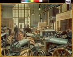 Filonov, Pavel Nikolayevich - The Tractor assembly shop at the Putilov factory