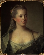 Nattier, Jean-Marc - Portrait of Countess Ekaterina Dmitrievna Golitsyna (1720-1761), née Cantemir