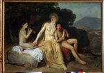 Ivanov, Alexander Andreyevich - Apollo, Hyacinth and Cyparissus singing and playing