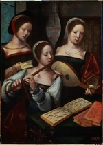 Master of the Female Half-Lengths - Musicians
