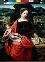 Master of the Female Half-Lengths - Virgin and Child