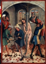 Koerbecke, Johann - The Flagellation of Christ