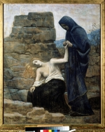 Puvis de Chavannes, Pierre Cécil - The Compassion