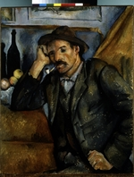 Cézanne, Paul - A smoker