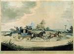 Havell, Robert I - A stagecoach