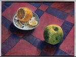 Petrov-Vodkin, Kuzma Sergeyevich - Apple and lemon