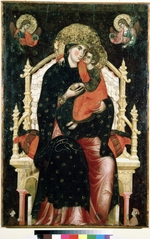 Venetian master - Virgin and Child Enthroned
