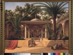 Chernetsov, Grigori Grigorievich - Fountain at a Mosque in Cairo