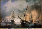 Aivazovsky, Ivan Konstantinovich - The Naval Battle of Navarino on 20 October 1827