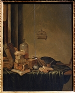 Vucht, Gerrit, van - Still life with Books