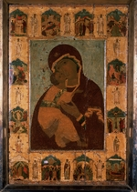 Russian icon - The Virgin of Vladimir