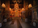 Old Russian Architecture - Interior of the Archangel Michael Cathedral in the Moscow Kremlin