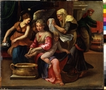 Parmigianino - The Child's Bath